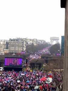24-03-2013: a manifestação vista desde o fundo